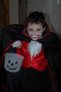 Clément en vampire...
