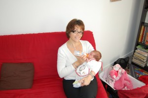 Julie avec Tata