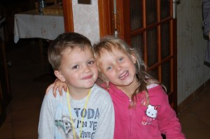 Nathan et Mélanie...